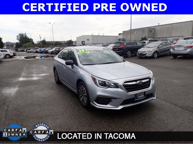 Subaru Certified Pre Owned >> Certified Pre Owned 2019 Subaru Legacy 2 5i Awd